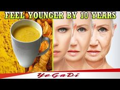 When You Wake Up! Drink This And Feel Younger By 10 Years - YEGADI - YouTube