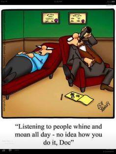 Therapy humor. Bill Abbott.