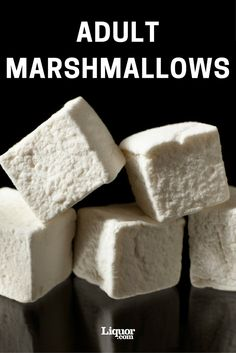 Marshmallows How to Make Boozy Marshmallows: This campfire favorite gets an adult twist. Do some molecular gastronomy at home.How to Make Boozy Marshmallows: This campfire favorite gets an adult twist. Do some molecular gastronomy at home. Recipes With Marshmallows, Homemade Marshmallows, Marshmallow Recipes, Slushies, Fudge, Kitchen Recipes, Cooking Recipes, Sauce Recipes, Alcoholic Desserts