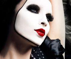 another mime face Mime Makeup, Cosplay Makeup, Beauty Makeup, Creepy Makeup, Maquillaje Halloween, Halloween Makeup, Halloween Costumes, Halloween 2016, Halloween Ideas
