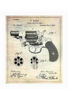 handgun blueprints