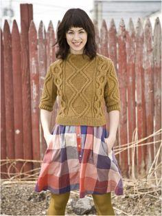 Amy's Thread: The Season of Cabled Pullovers | berroco design studio