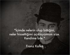 milena'ya mektuplar on Kafka Quotes, Beautiful Mind Quotes, Best Quotes, Life Quotes, Philosophical Quotes, Dangerous Minds, Breath In Breath Out, Thing 1, Meaningful Words