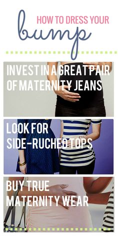 How To Dress Your Bump - Maternity Fashion Tips from #zulily