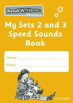 Read Write Inc. Phonics: My Sets 2 and 3 Speed Sounds Book Pack of 5 Secondary School, Primary School, Read Write Inc Phonics, Phonics Sounds, Book Names, Phonics Activities, Letter Recognition, Home Learning, Teaching Kids