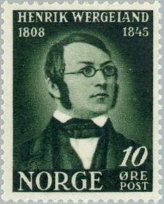 Sello: Wergeland, Henrik (Noruega) (Wergeland, Henrik) Mi:NO 318 Abraham Lincoln, Norway, Stamps, Movies, Movie Posters, Seals, Films, Film Poster, Cinema