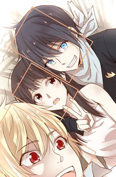 Noragami ~ Yato , Yukine & Hiyori