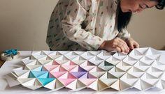 DIY: Origami modular decorativo