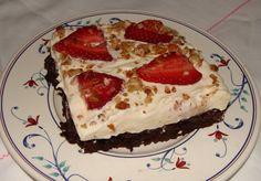 brownie desserts   Found photos of Banana Cream Brownie Dessert