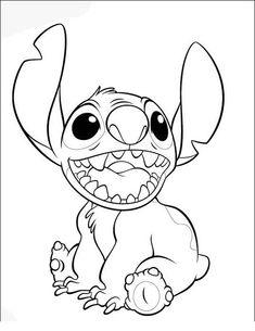 Desenhos para colorir Lilo e Stitch 41