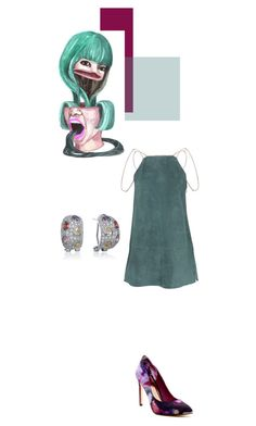 """Untitled #740"" by mojosoignee ❤ liked on Polyvore featuring Alexis, Ted Baker and Collette Z"