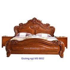 Girls bedroom furniture, Bed furniture set, Bedroom bed design, Wooden bed, Wooden bed design, Bedroom furniture sets - Giường gỗ căm xe cao cấp MS 8932  Nội thất Thái Bình  giao hàng t -  #Girlsbedroom #furniture