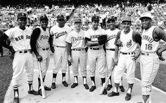 Roberto Clemente leads group of Latin American players to MLB Baseball Tops, Baseball Star, Baseball Photos, Baseball Players, Baseball Cards, Baseball Movies, Sports Photos, Roberto Clemente, Mlb
