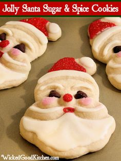 Jolly Santa Sugar & Spice Cookies 9