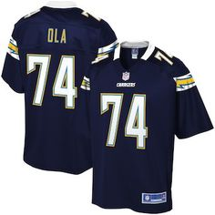 aa9034e5a4c Michael Ola Los Angeles Chargers NFL Pro Line Player Jersey – Navy Nfl  Jerseys For Sale