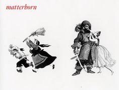 Mac Davis illustration: Pirates of the Caribbean concept art