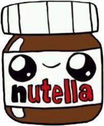 Welcome to the official USA website of Nutella®. Kawaii Girl Drawings, Cute Food Drawings, Cute Little Drawings, Cute Animal Drawings, Cool Art Drawings, Disney Drawings, Food Drawing Easy, Griffonnages Kawaii, Cute Kawaii Girl