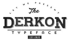 Free Font Of The Day  Derkon