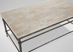 Vida Stone-Top Coffee Table | Coffee Tables