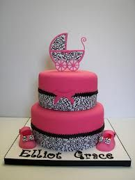baby shower cakes + flowers - Google Search
