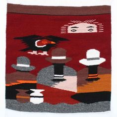 Paradise Sunset #Tapestry Handmade in Ecuador Buy it here: http://www.artisansintheandes.com/tapestry-decor-home-tapestries/tapestry-wall-decor-people-sunset
