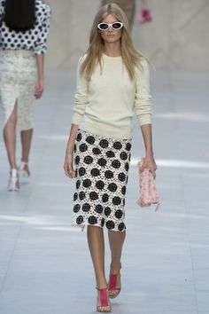 Burberry Prorsum ready to wear 2014, London fashion week