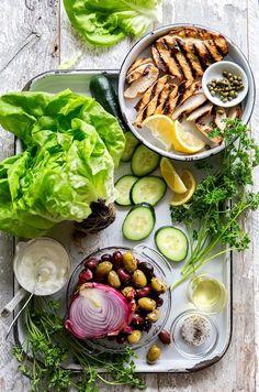 Mediterranean Lettuce Wrap Recipe on Yummly. @yummly #recipe