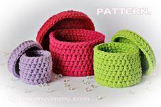 crochet boxes pattern