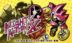 Mighty Action X 3DS (JPN) CIA (Region Free) - https://www.ziperto.com/mighty-action-x-3ds/