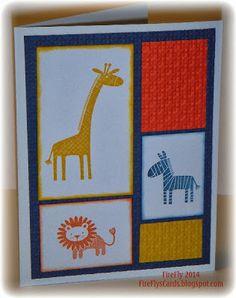 FireFly's Cards: Zoo Babies