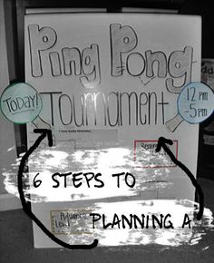 6 Steps to Planning a Ping Pong Tournament