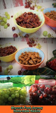 These are the BEST raisins I ate. They are moist, juicy, super fresh and vibrant in colour. It is also very cheap compared to store bought. You just need ONE ingredient. It needs very little work and 3-4 mins of cooking time. #easyrecipeschallenge 😍😘 How To Make Raisins, Green Grapes, Vegetarian Cooking, Sun Dried, Cooking Time, Gluten Free Recipes, Free Food, Easy Meals, Homemade