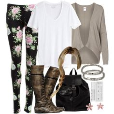 """Malia Inspired Outfit"" by veterization on Polyvore"