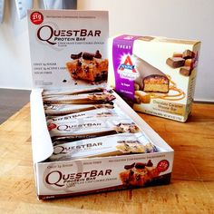 NOT bad coming home to this....!!! #Quest #questbar #questbars #onaquest #iherb @iHerb Inc #home #atkins #caramel #lowcarb #protein #proteinbar #yum #yummy #icaniwill #fit #igfit #foodisfuel #muscle #healthy #sunn #natural #fitness #fitfam #dedication #cookiedough #clean #Padgram
