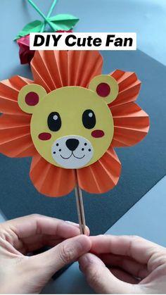 Diy Crafts For Kids Easy, Animal Crafts For Kids, Paper Crafts Origami, Diy Crafts For Gifts, Paper Crafts For Kids, Craft Activities For Kids, Toddler Crafts, Preschool Crafts, Dinosaur Crafts Kids