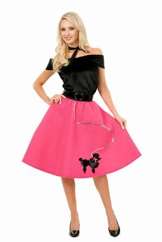 cb810158f683 Check out Poodle Skirt Adult Costume - Wholesale 50s Womens Costumes from  Wholesale Halloween Costumes Poodle