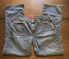 8906a4a7 Levi's 515 Ladies Size 10 Miss M Low Rise Boot Cut Stretch Blue Jeans # fashion