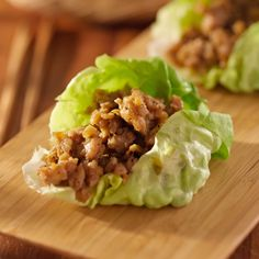 Sesame Chicken in Living Lettuce Cups recipe - Foodista.com