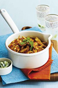 Butter Curry Chicken with Coriander - wahooo Ina Paarman delight!