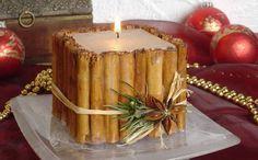 velas artesanais rusticas - Pesquisa Google
