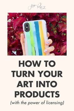 How to turn your art into products, with the power of licensing! So how did my artwork go from sitting on my desk at home to sitting on shelves in retail stores? The answer is: licensing! Here's how to do it! #artwork #licensing Creating A Business Plan, Business Planning, Business Tips, Happy Little Trees, Online Checks, Selling Art Online, Online Programs, Word Out, Stationery Set