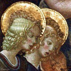 Benedetto Bonfigli Perugia, 1420 ca. - 1496 Madonna di San Domenico, Galleria Nazionale dell' Umbria : 1448-1449 ca. [detail]