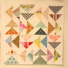 Scrap Quilts - Flying Geese