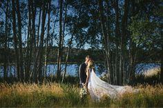 Daylesford wedding at Sault lavander farm. Down by the lake. Perfection. www.shaunguestphotography.com.au