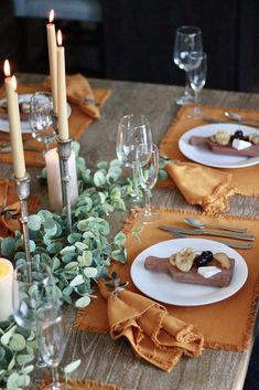 Fall Tablescape Featuring The Chic(ish) Mini Cheese Board - The Chic(ish) Chick