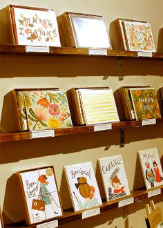 rifle paper company's booth at the national stationery show via poppytalk