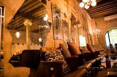vintage cinema seating by Bungalow 8