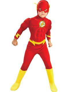 El mayor catálogo online para comprar disfraz de flash para niño. Precios  muy económicos b6b54145cdd