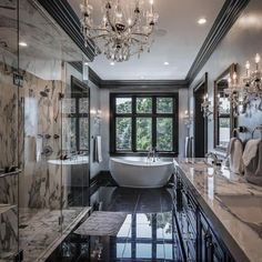 Like the tub #LuxuryBeddingBasements cubanachronicles.com IG: MeaganLaCubana