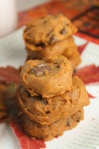 Soft Pumpkin Cookies - Gluten Free & Vegan